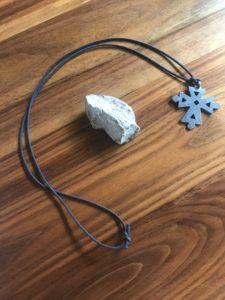 rock, pectoral cross
